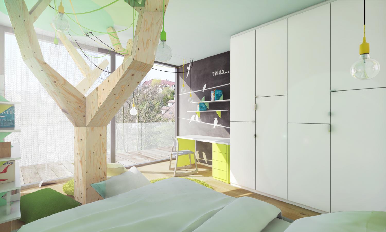 0bf951b47d620 Návrh (vizualizácia) detskej izby pre dievčatko