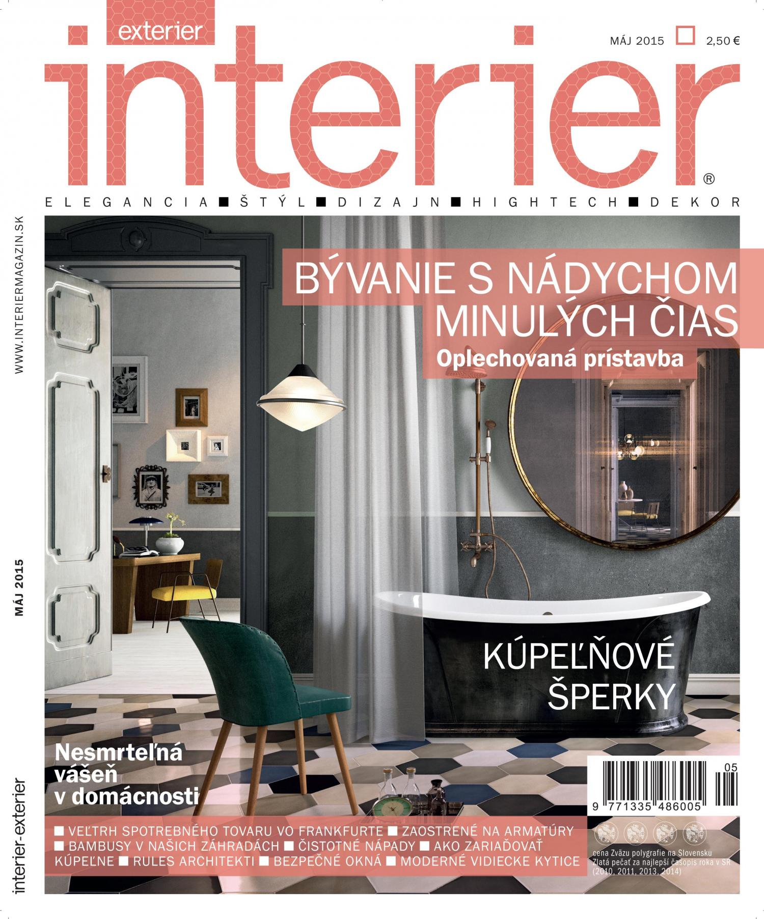 Interier/Exterier, 05/2015, RULES Architekti, 62-65
