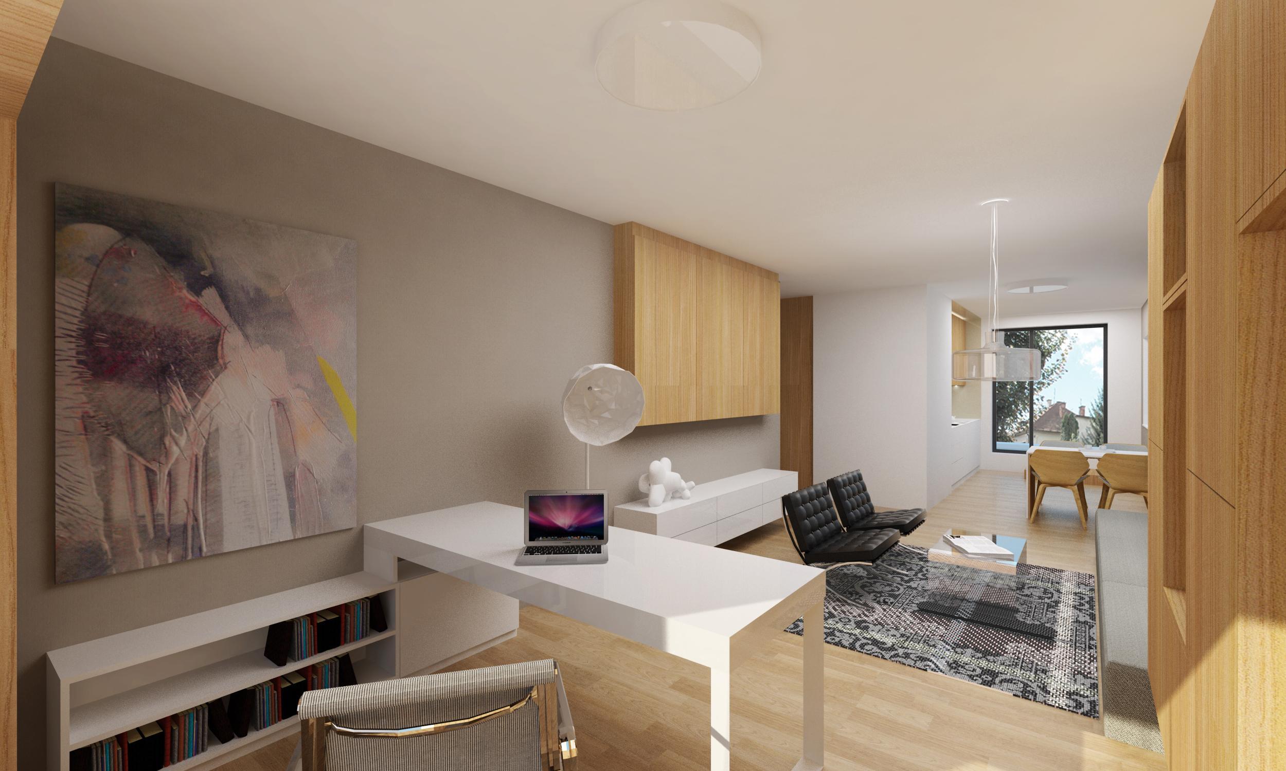 idea for an attic room - Apartment Entrance Design Swedish apartment boasts